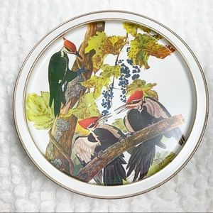Vintage Sunshine Biscuits tin Audubon birds rare
